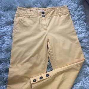 Charter clud cropped length capris